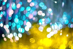 Festive Christmas elegant abstract background with Purple and Neon bokeh lights and stars. Festive Christmas elegant abstract background with bokeh lights and royalty free illustration