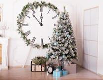 Festive Christmas interior Royalty Free Stock Photo