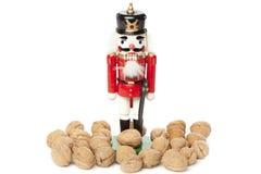 Festive Christmas NutCracker Royalty Free Stock Image