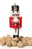 Festive Christmas NutCracker Royalty Free Stock Photography