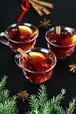 Festive Christmas Punch Royalty Free Stock Photo