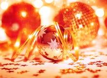 Festive Christmas still life Royalty Free Stock Photos