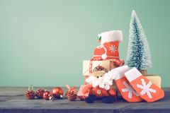 Christmas backgrounds 2018 Stock Photos