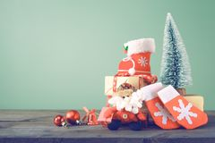 Christmas backgrounds 2018 Stock Images