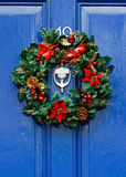 Festive Christmas wreath Royalty Free Stock Photo