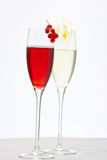 Festive cocktails Royalty Free Stock Photo