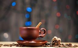 Festive coffee Stock Photos