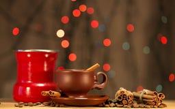 Festive coffee Stock Photography