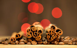Festive coffee Royalty Free Stock Photography