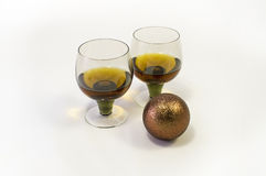 Festive cognac Stock Photo