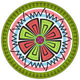 Festive colored stained glass. Vector illustration Royalty Free Stock Photos