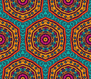Festive colorful background design. Abstract Tribal vintage ethnic seamless pattern ornamental. Festive colorful background design Royalty Free Stock Photo