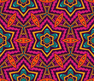 Festive colorful background design. Abstract Tribal vintage ethnic seamless pattern ornamental. Festive colorful background design Stock Image