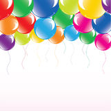 Festive colorful balloons. Vector illustration of festive colorful balloons Stock Photography
