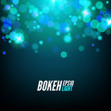 Festive Colorful bokeh background lights. Abstract Vector illustration.  Royalty Free Stock Image
