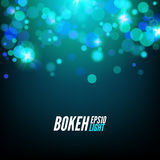 Festive Colorful bokeh background lights. Abstract Vector illustration.  Royalty Free Stock Photography