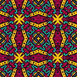 Festive Colorful ethnic seamless pattern. Festive Colorful Tribal ethnic seamless pattern ornamental Royalty Free Stock Photo