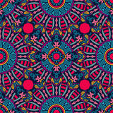 Festive Colorful geometric seamless pattern Stock Images