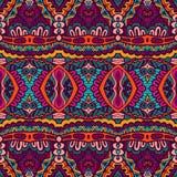 Festive colorful ornamental vector ethnic. Abstract festive colorful grunge vector ethnic tribal pattern Stock Photo