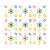 Festive colorful seamless pattern Stock Images