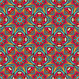 Festive colorful surface background design. Abstract Tribal vintage ethnic seamless pattern ornamental. Festive colorful background design Royalty Free Stock Photo