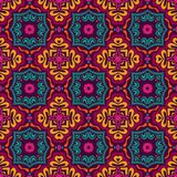 Vector Seamless Tribal geometric gypsy Pattern. Festive Colorful Tribal ethnic seamless vector pattern ornamental. Geometric print Stock Photography