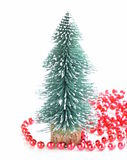 Festive composition with Christmas tree Royalty Free Stock Photo
