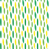 Festive confetti seamless pattern. Modern, geometric repeating texture. Memphis style endless background. Vector Royalty Free Stock Images