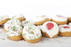 Festive Cookies Stock Photos