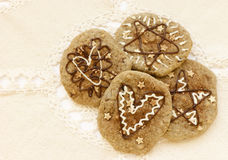 Festive cookies Stock Images
