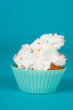 Festive cupcake Stock Images