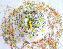 Festive cupcake Stock Photography