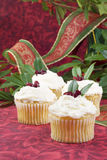 Festive Cupcakes Royalty Free Stock Photography