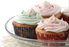 Festive cupcakes Royalty Free Stock Photo