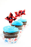 Festive Cupcakes Stock Images