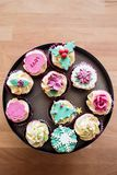Festive cupcakes Stock Image