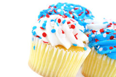 Free Festive Cupcakes In Red, White And Blue Royalty Free Stock Images - 14815079