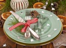 Festive cutlery Stock Image