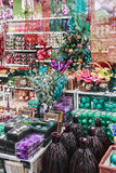 Festive decoration showcases the store Hoff Royalty Free Stock Images