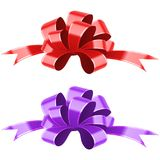 Festive decorative bow. Vector Illustration. Festive decorative bow. Design element Vector Illustration Stock Photo