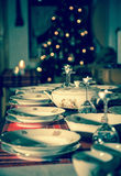 Festive dining Royalty Free Stock Image