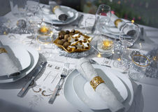 Festive Dining Royalty Free Stock Photos