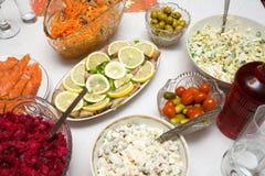 Festive dinner Royalty Free Stock Photo