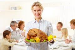 Festive dish Stock Images