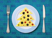 Festive dish Royalty Free Stock Image