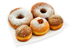 Festive donuts Royalty Free Stock Photo