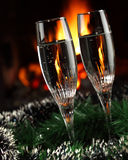 Festive drinks Royalty Free Stock Image