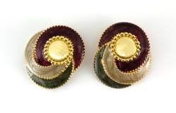 Festive Earrings Stock Images
