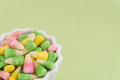 Festive Easter candy corn Royalty Free Stock Photography