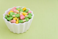 Festive Easter candy corn Royalty Free Stock Photos